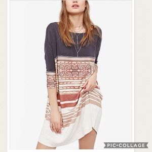 NWT Free People Stepping Out Dress